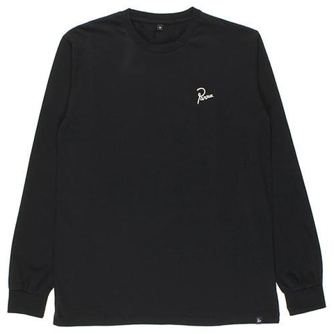 BY PARRA CLUB NOT LONG SLEEVE T-SHIRT / BLACK - 1