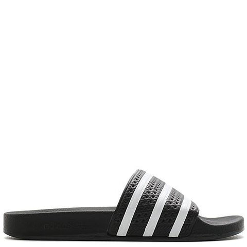 ADIDAS ORIGINALS ADILETTE SLIDES / BLACK - 1
