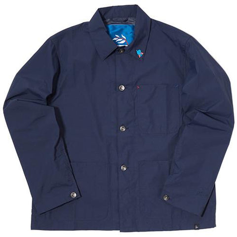 BY PARRA NYLON WORKER SHIRT / NAVY BLUE - 1
