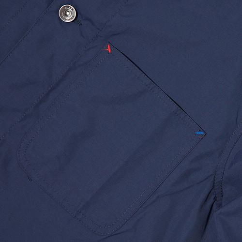 BY PARRA NYLON WORKER SHIRT / NAVY BLUE - 5