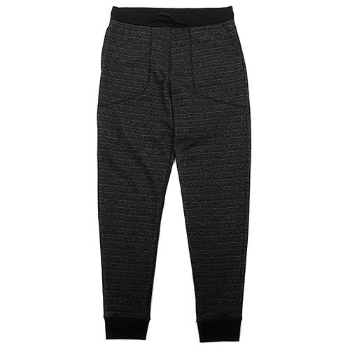 {ie UTILITY SWEATPANT / BLACK - 1