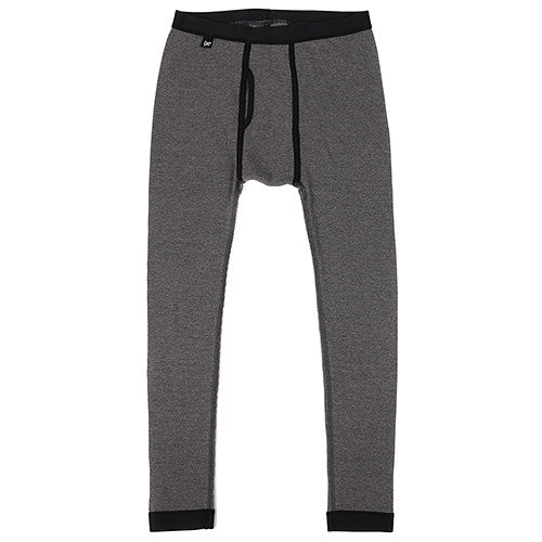 {ie THERMAL LONG JOHNS / HEATHER CHARCOAL - 1