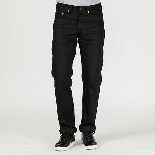 {ie TAPERED JEAN / BLACK - 8
