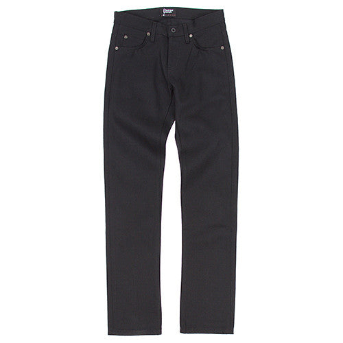 {ie TAPERED JEAN / BLACK - 1