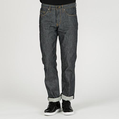 {ie TAPERED JEAN / RAW INDIGO - 8
