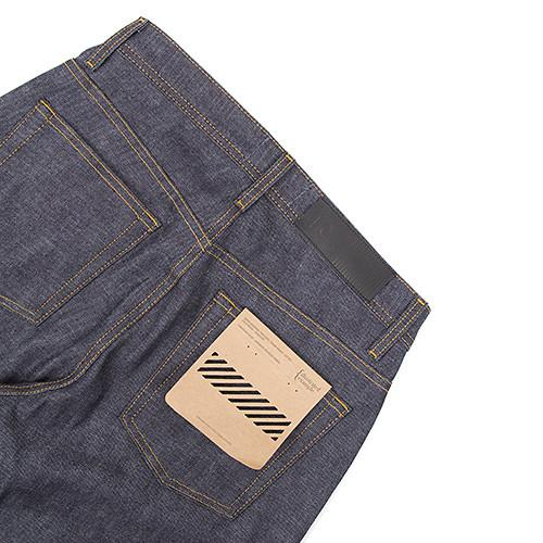 {ie TAPERED JEAN / RAW INDIGO - 5