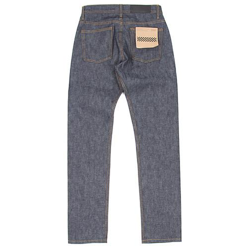 {ie TAPERED JEAN / RAW INDIGO - Deadstock.ca