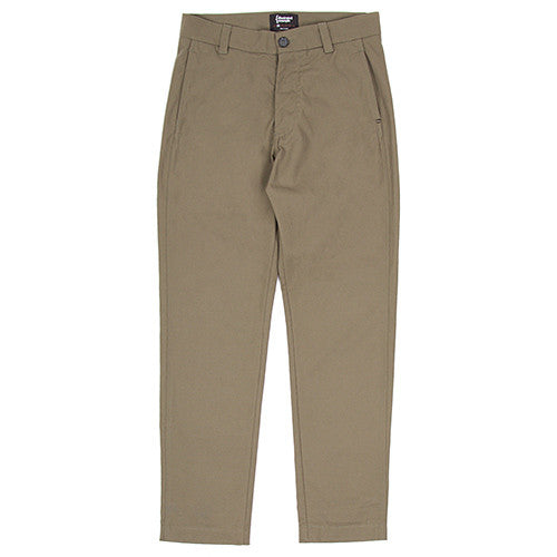{ie CANVAS CHINO / OLIVE - 1