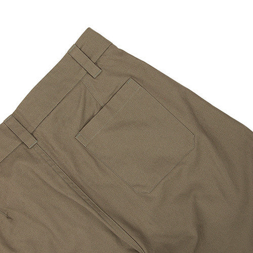 {ie CANVAS CHINO / OLIVE - 6