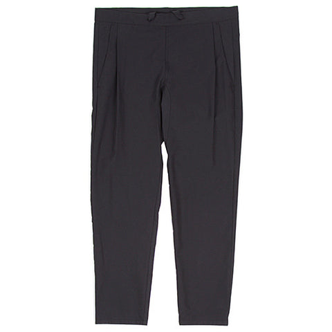 {ie LEISURE PANT / BLACK - 1