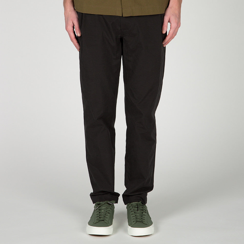 {ie LEISURE PANT / BLACK