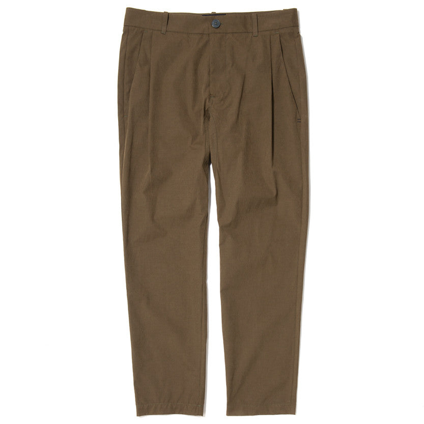 {ie LEISURE PANT / OLIVE - 1