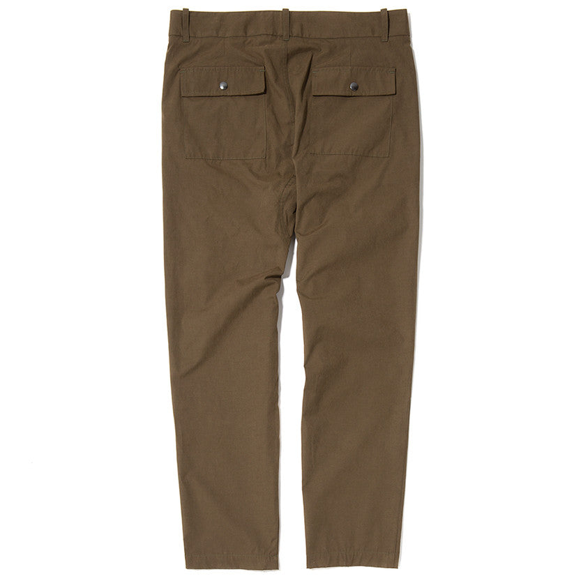 {ie LEISURE PANT / OLIVE - 2