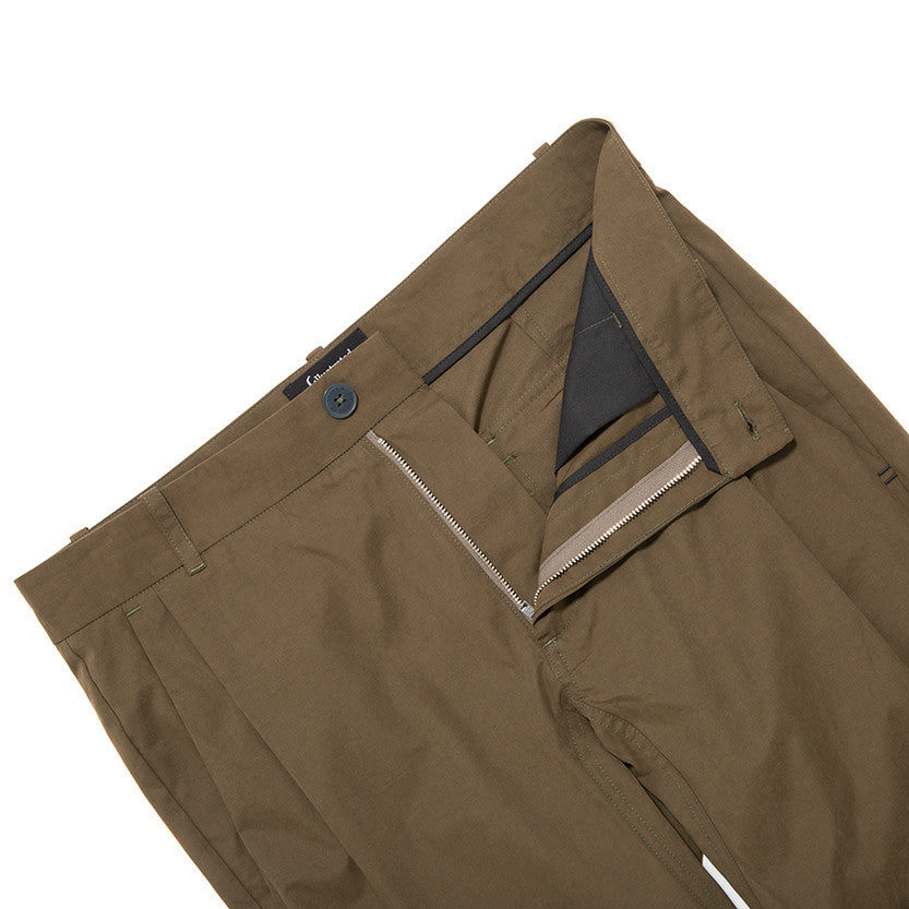 {ie LEISURE PANT / OLIVE - 4