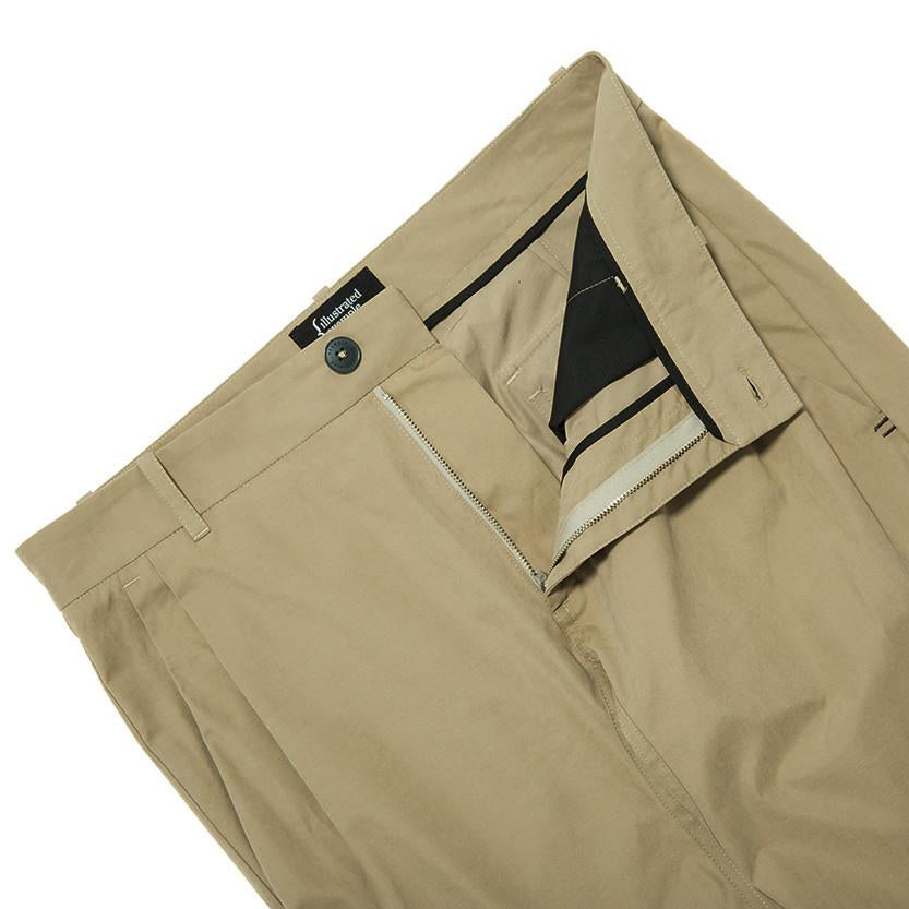 {ie LEISURE PANT / SAND - 4