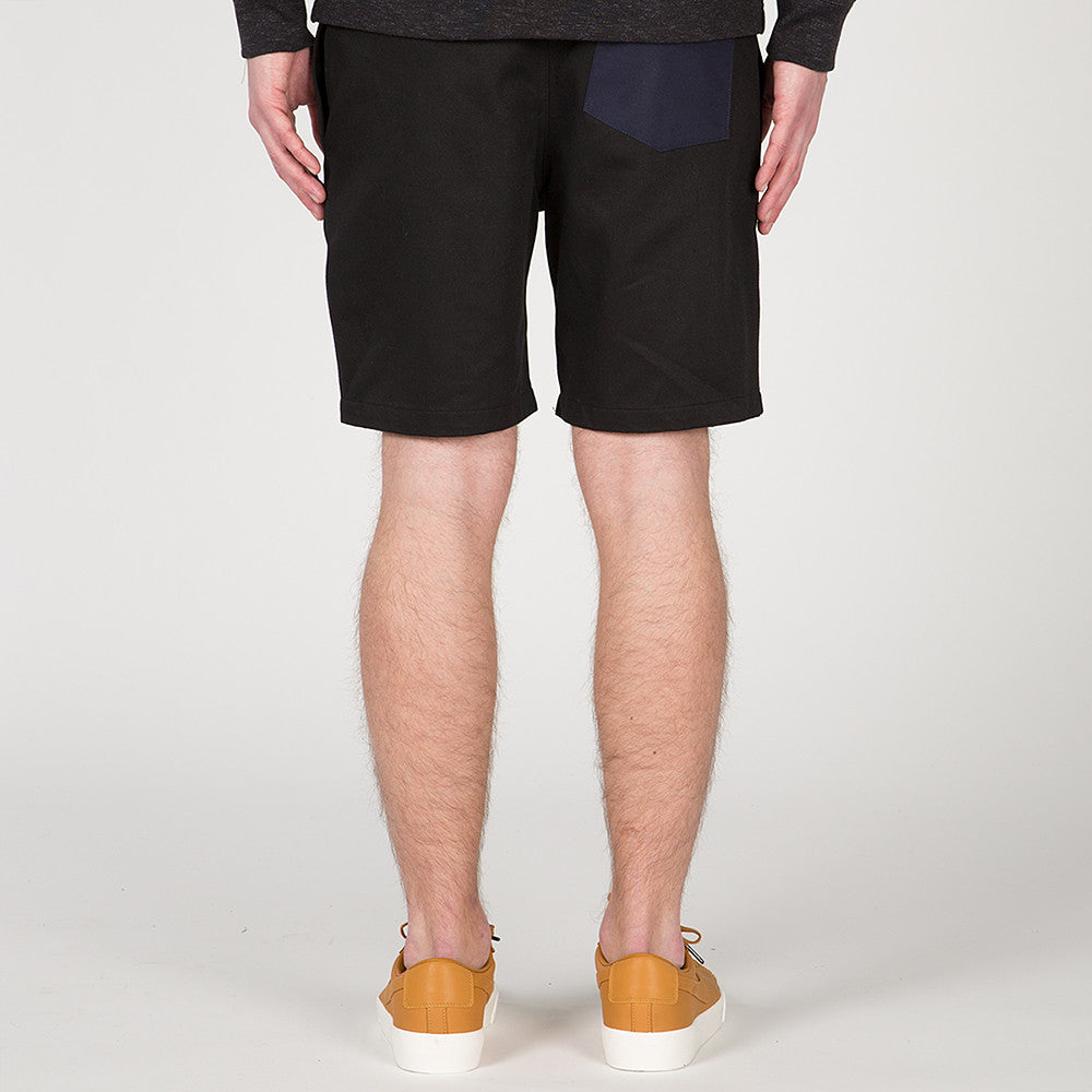 {ie RUGBY SHORT BLACK / NAVY