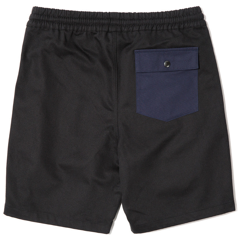 {ie RUGBY SHORT BLACK / NAVY - 2
