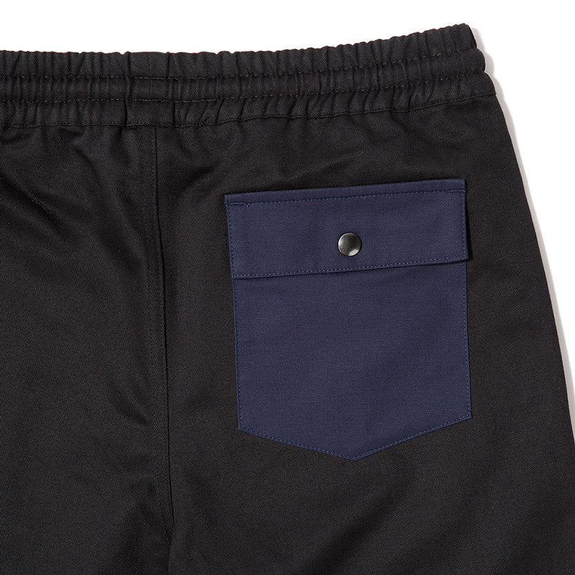 {ie RUGBY SHORT BLACK / NAVY - 4