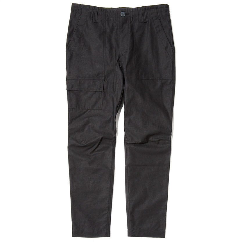 {ie FATIGUE PANT / BLACK - 1