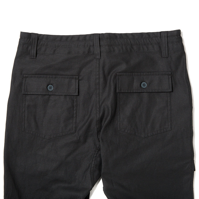 {ie FATIGUE PANT / BLACK - 3
