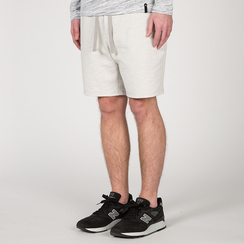 {ie SLUB FRENCH TERRY SHORT / CLOUD