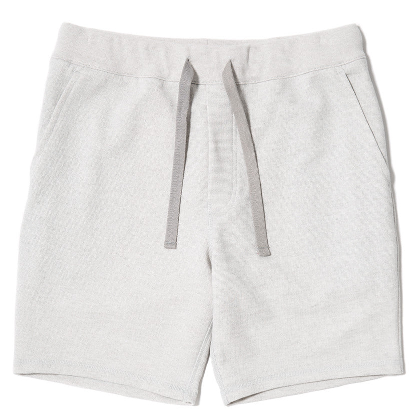 {ie SLUB FRENCH TERRY SHORT / CLOUD - 1