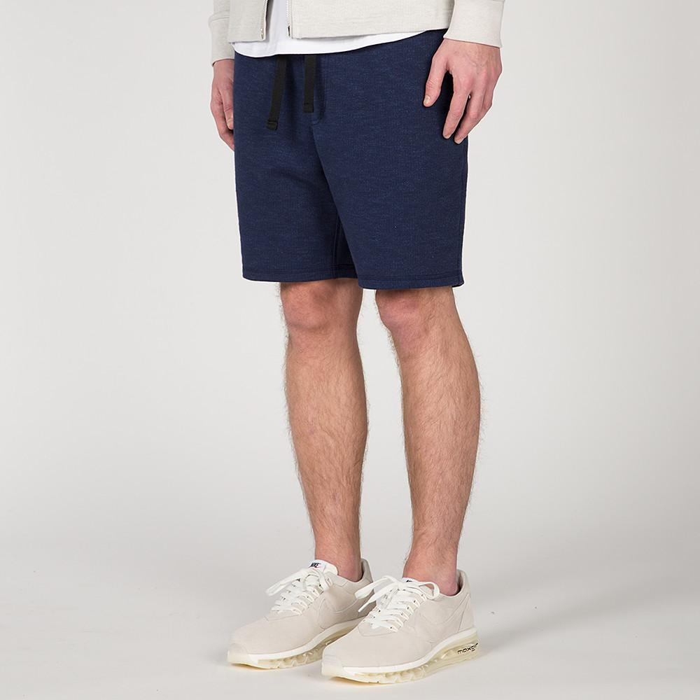 {ie SLUB FRENCH TERRY SHORT / INDIGO