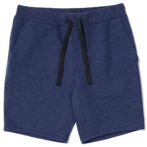 {ie SLUB FRENCH TERRY SHORT / INDIGO - 1