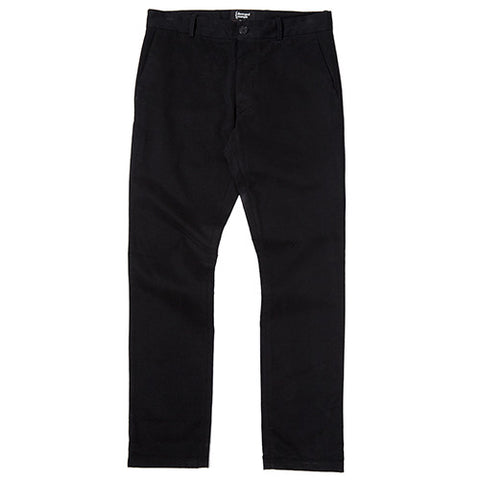 {ie CHINO PANT / BLACK - 1