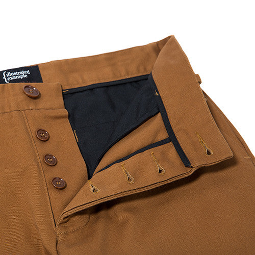 {ie CHINO PANT / CAMEL - 3