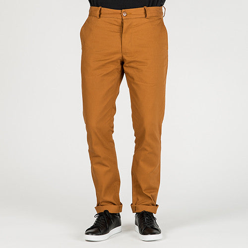 {ie CHINO PANT / CAMEL - 8