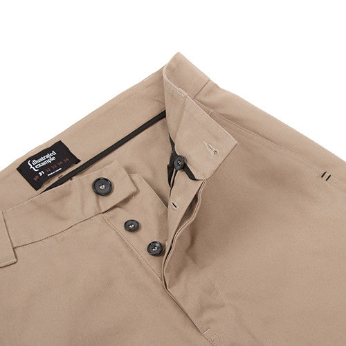 {ie CANVAS CHINO PANT / KHAKI - 4