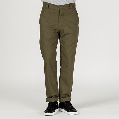 {ie CANVAS CHINO PANT / OLIVE - 8