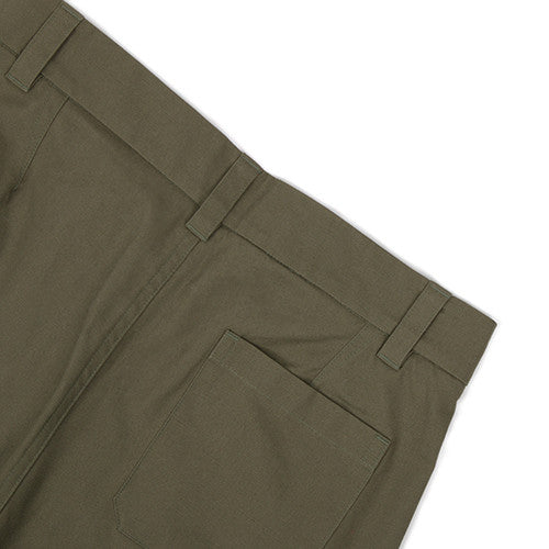 {ie CANVAS CHINO PANT / OLIVE - 5