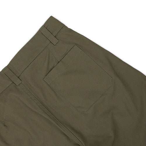 {ie CANVAS CHINO PANT / OLIVE - 6