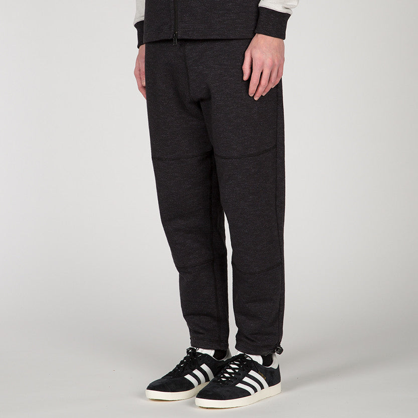 {ie SLUB FRENCH TERRY SWEATPANT / BLACK