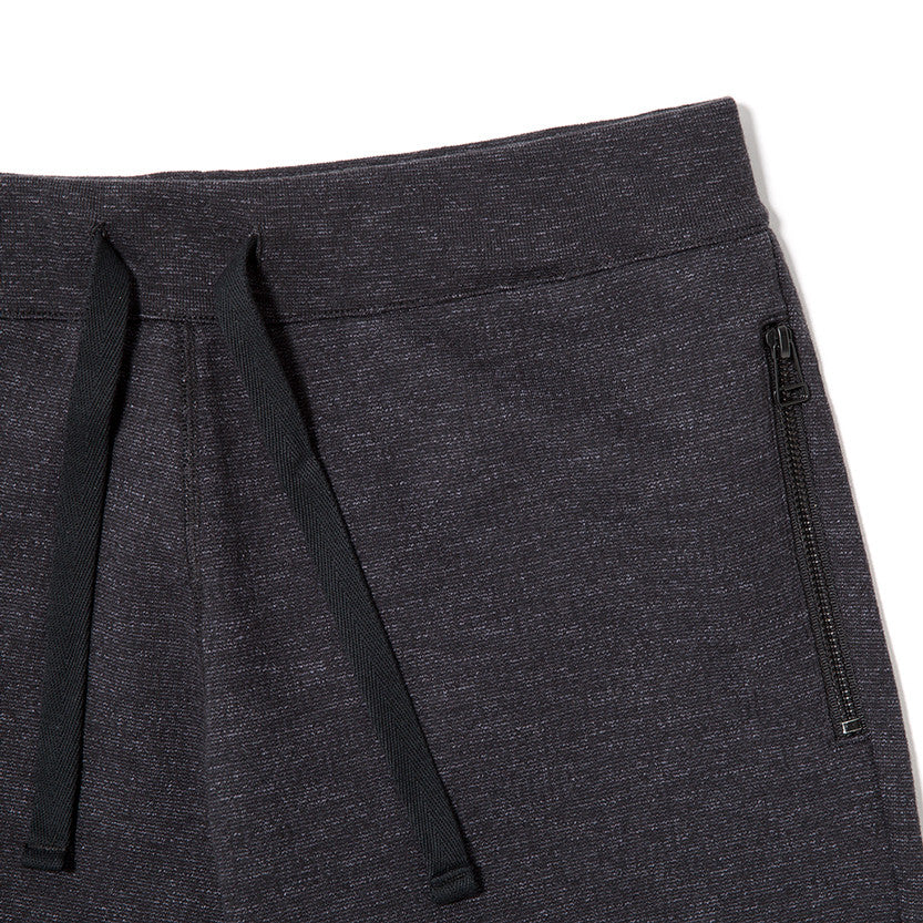{ie SLUB FRENCH TERRY SWEATPANT / BLACK - 3