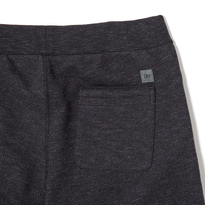 {ie SLUB FRENCH TERRY SWEATPANT / BLACK - 4