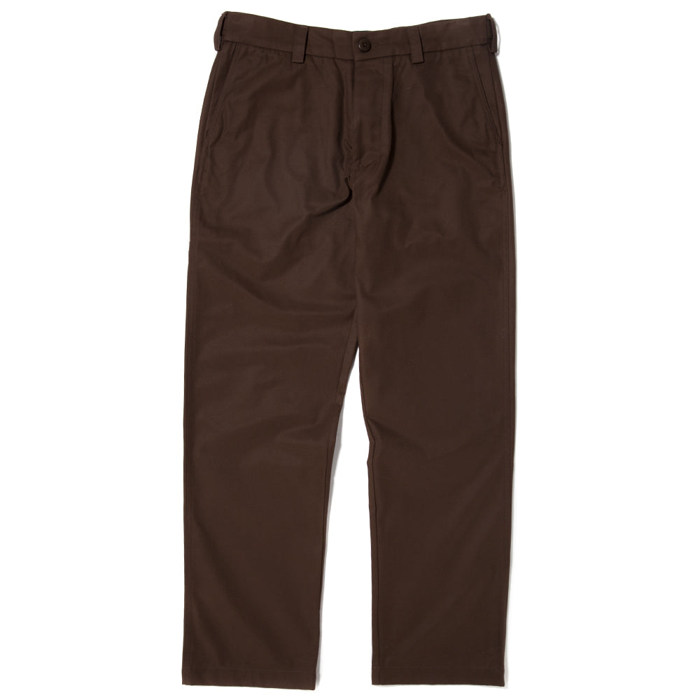 style code 3031GBF17BRN. {ie WELT POCKET TWILL CHINO / BROWN