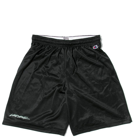 CHAMPION LIVESTOCK MESH SHORTS / BLACK