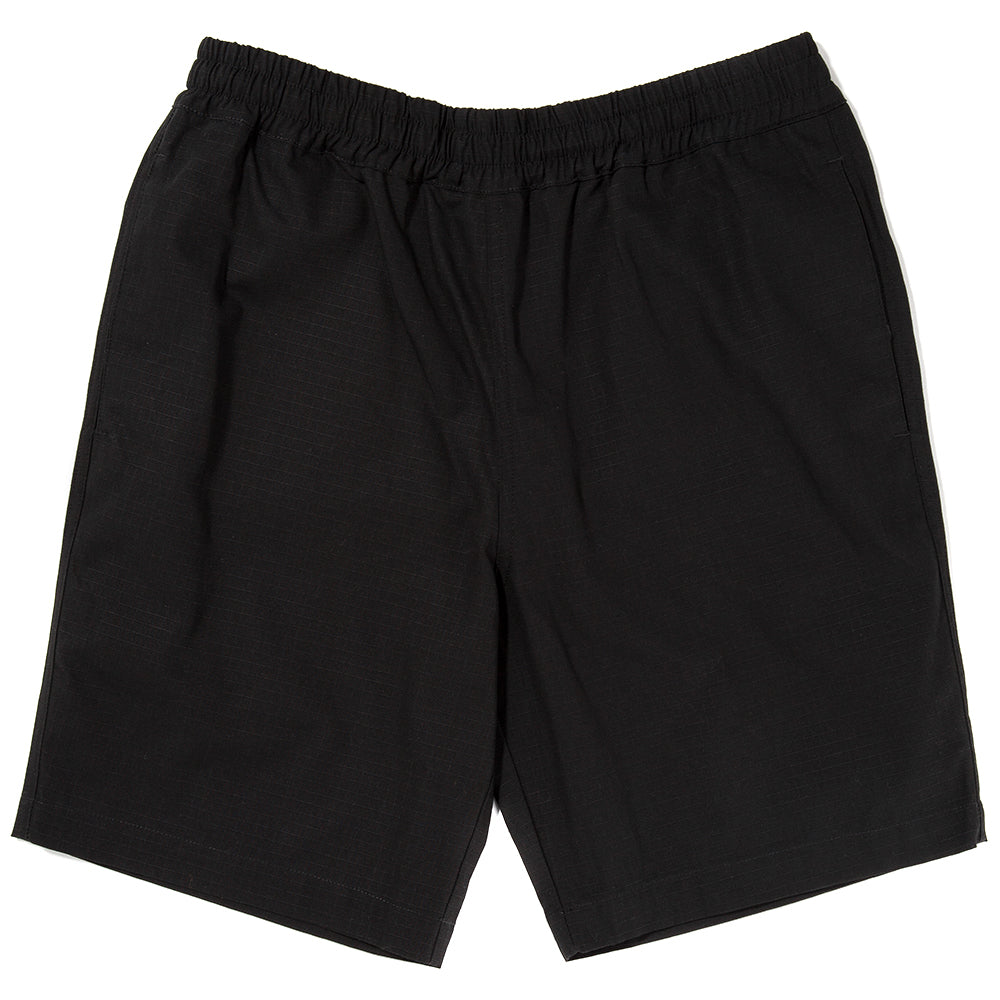 Style code 3037SS18BLK. {ie RUGBY SHORT / BLACK