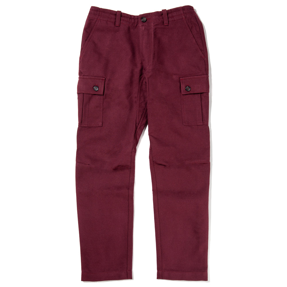 {ie Cargo Pant / Burgundy - Deadstock.ca