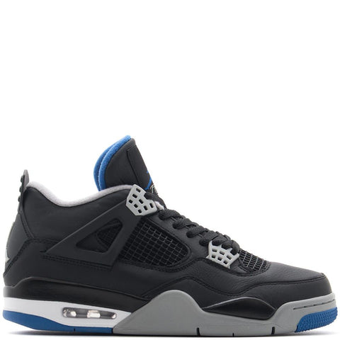 JORDAN 4 RETRO BLACK / GAME ROYAL