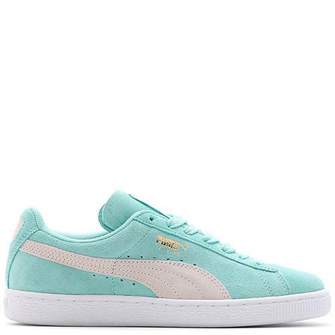PUMA WOMEN'S SUEDE CLASSIC HOLIDAY / WHITE - 1