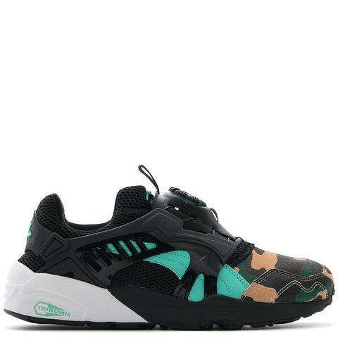 PUMA CREAM X ATMOS DISC BLAZE NIGHT JUNGLE / BLACK - 1