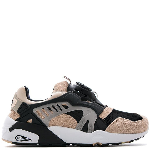 PUMA CREAM X KICKS LAB DISC BLAZE DESERT TROUPER / PUMA BLACK - 1