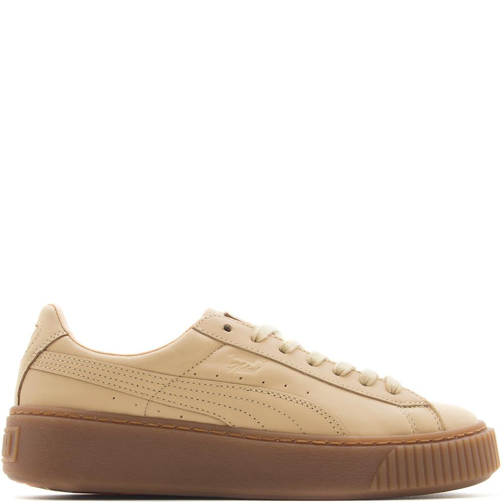 Puma Women's x Naturel Platform Veg Tan / Natural Vachetta - Deadstock.ca