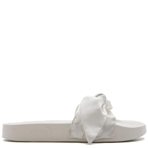 PUMA WOMEN'S FENTY BY RIHANNA BOW SLIDE / MARSHMALLOW