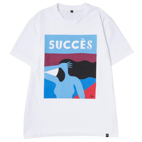 BY PARRA SUCCESS T-SHIRT / WHITE