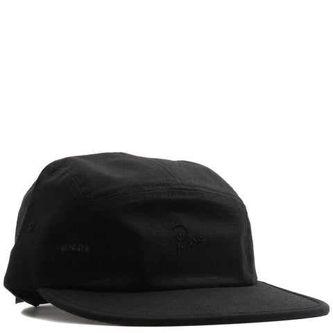 BY PARRA 5 PANEL VOLLEY HAT SIGNATURE / BLACK - 1